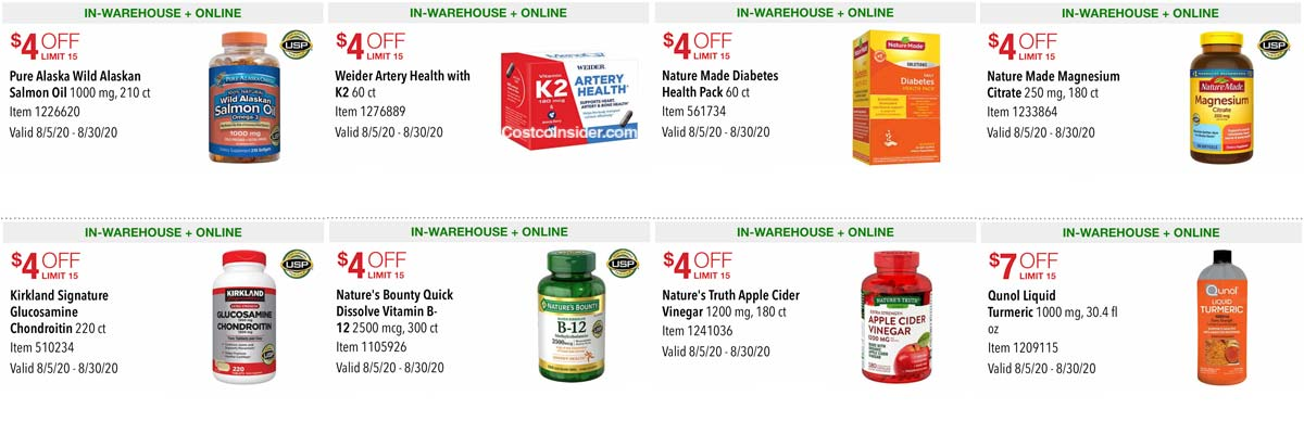 Costco August 2020 Coupon Book Page 13