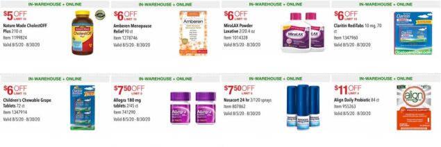 Costco August 2020 Coupon Book Page 15