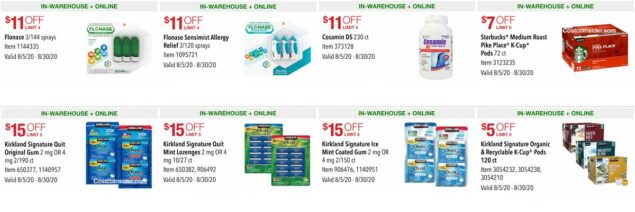 Costco August 2020 Coupon Book Page 16