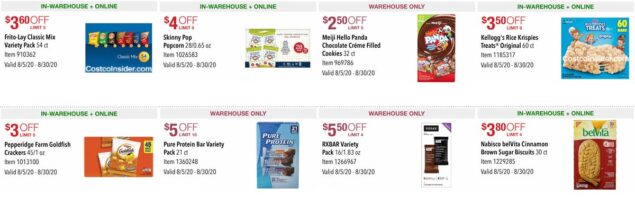 Costco August 2020 Coupon Book Page 17