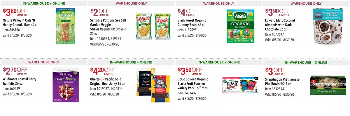 Costco August 2020 Coupon Book Page 18
