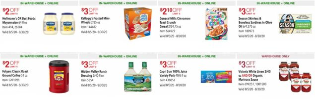 Costco August 2020 Coupon Book Page 19