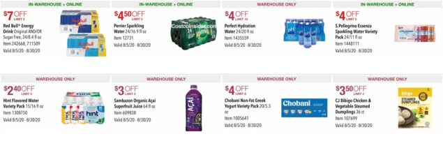 Costco August 2020 Coupon Book Page 20