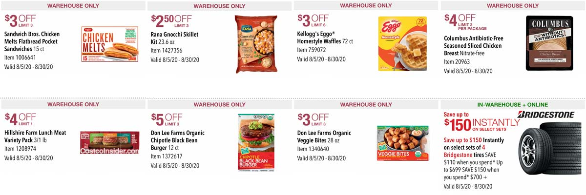 Costco August 2020 Coupon Book Page 21