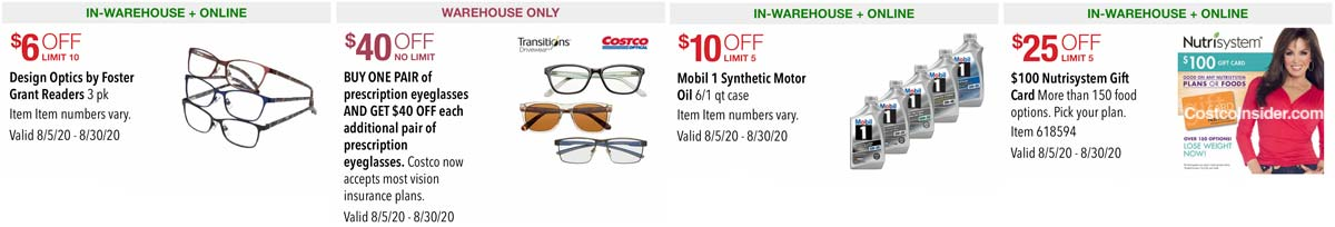 Costco August 2020 Coupon Book Page 22