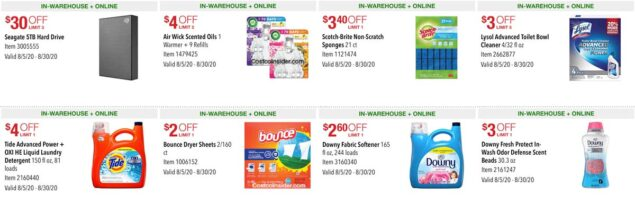 Costco August 2020 Coupon Book Page 3