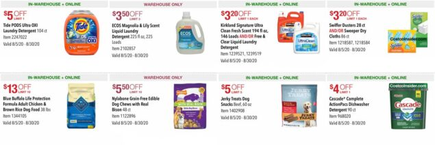 Costco August 2020 Coupon Book Page 4