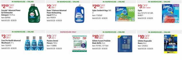 Costco August 2020 Coupon Book Page 5