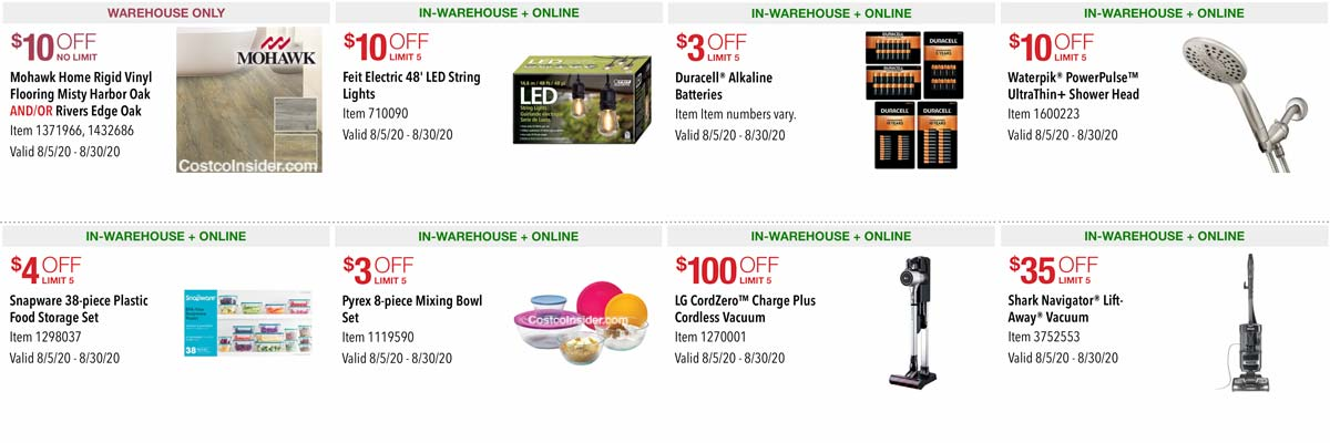Costco August 2020 Coupon Book Page 7