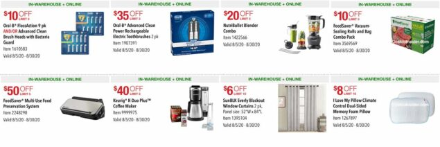 Costco August 2020 Coupon Book Page 8