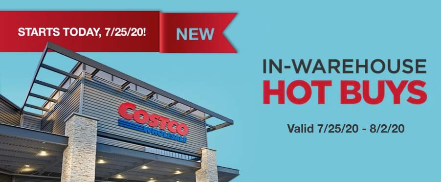 Costco August 2020 Hot Buys Coupons Cover