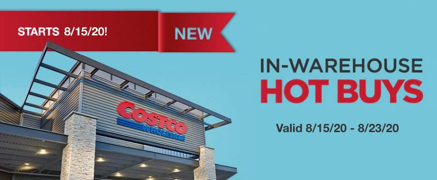 Costco August 2020 Hot Buys Part 2 Coupons Cover