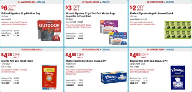 Costco August 2020 Hot Buys Part 2 Coupons Page 2