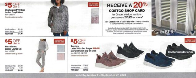 Costco September 2020 Coupon Book Page 10