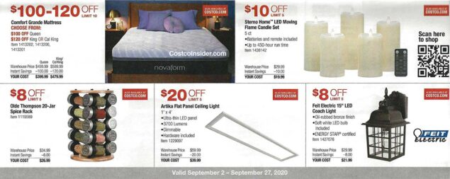 Costco September 2020 Coupon Book Page 12