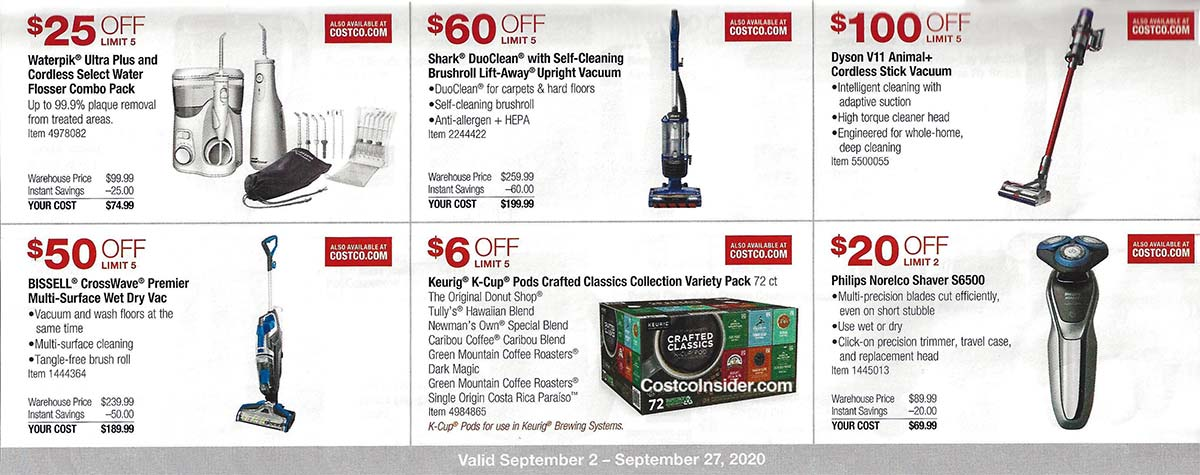 Costco September 2020 Coupon Book Page 14