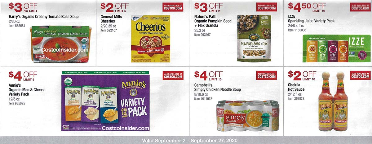 Costco September 2020 Coupon Book Page 18
