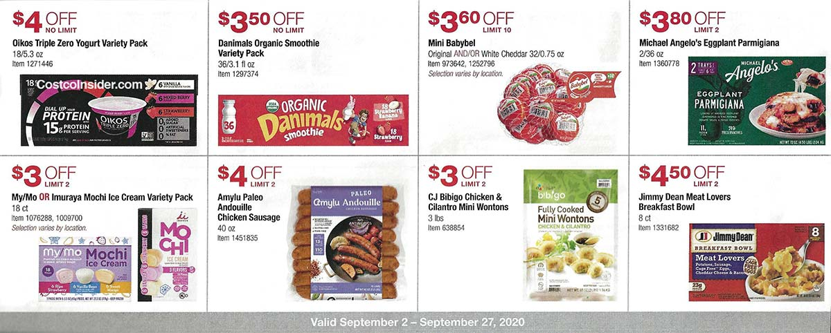 Costco September 2020 Coupon Book Page 20