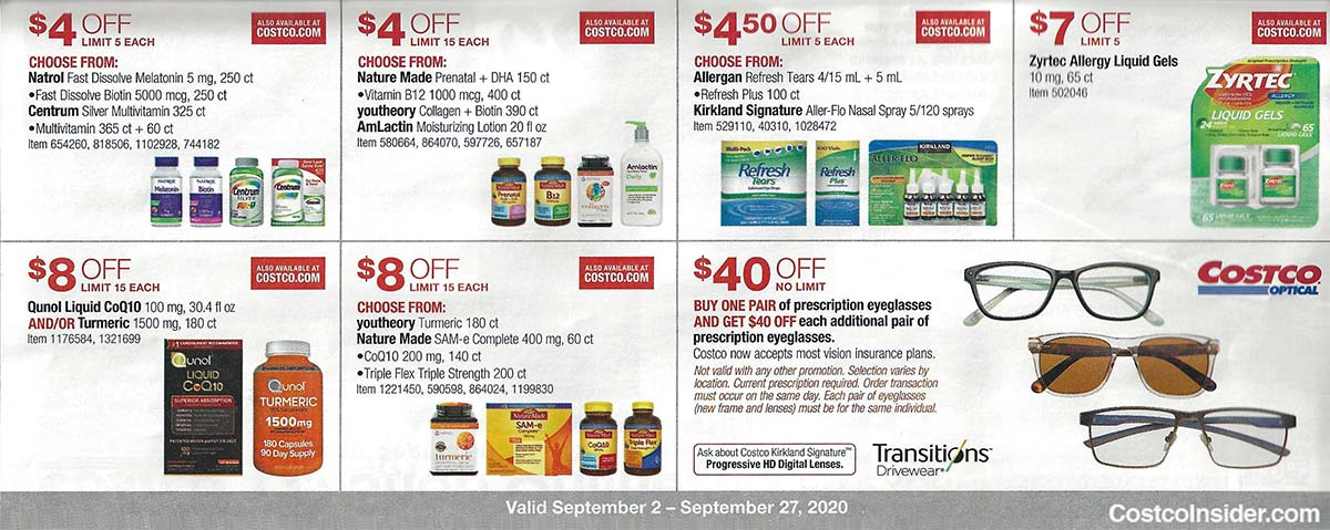 Costco September 2020 Coupon Book Page 22