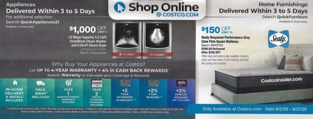 Costco September 2020 Coupon Book Page 24