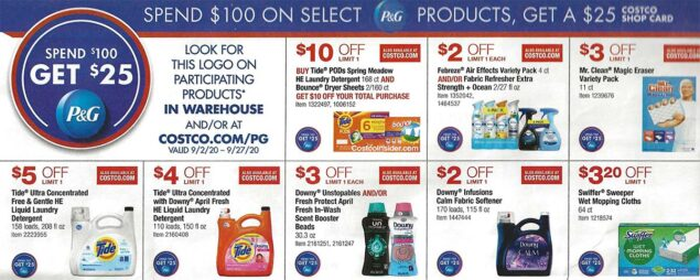 Costco September 2020 Coupon Book Page 3
