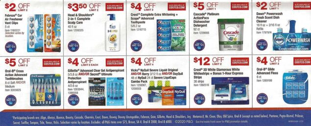 Costco September 2020 Coupon Book Page 4