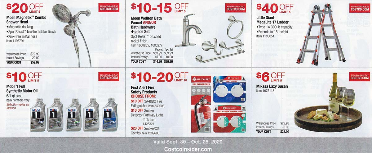 Costco October 2020 Coupon Book Page 11