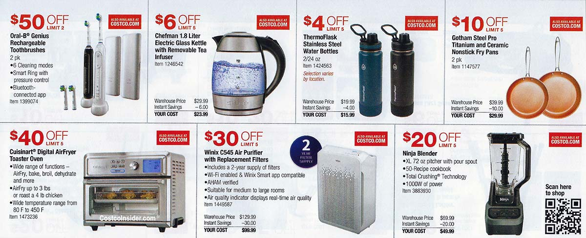 Costco October 2020 Coupon Book Page 12