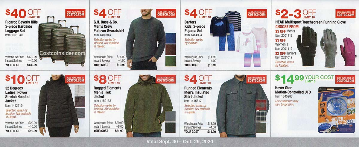 Costco October 2020 Coupon Book Page 13