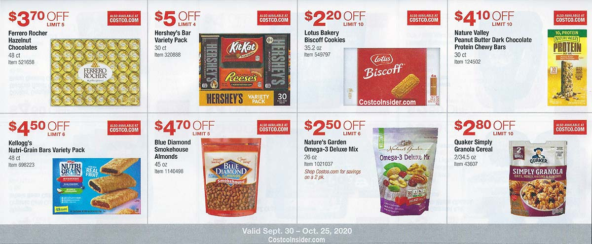 Costco October 2020 Coupon Book Page 15