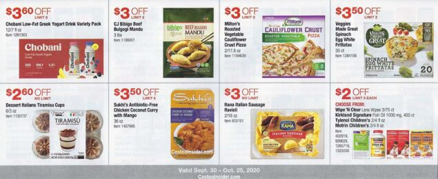Costco October 2020 Coupon Book Page 19