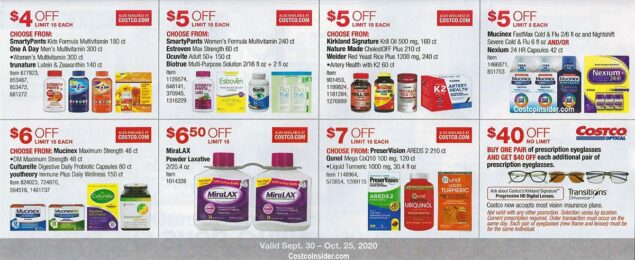 Costco October 2020 Coupon Book Costco Insider