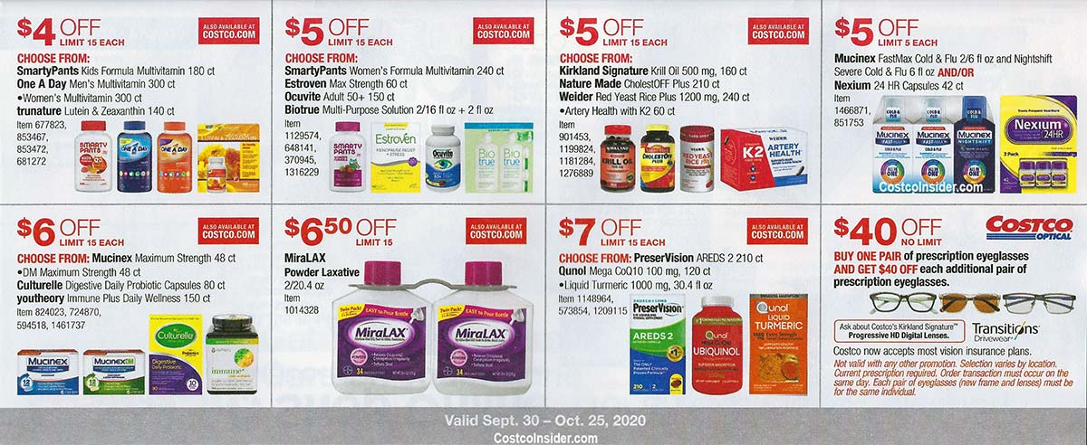 Costco October 2020 Coupon Book Page 21