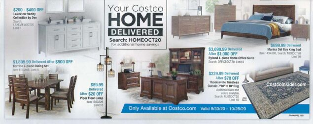 Costco October 2020 Coupon Book Page 23