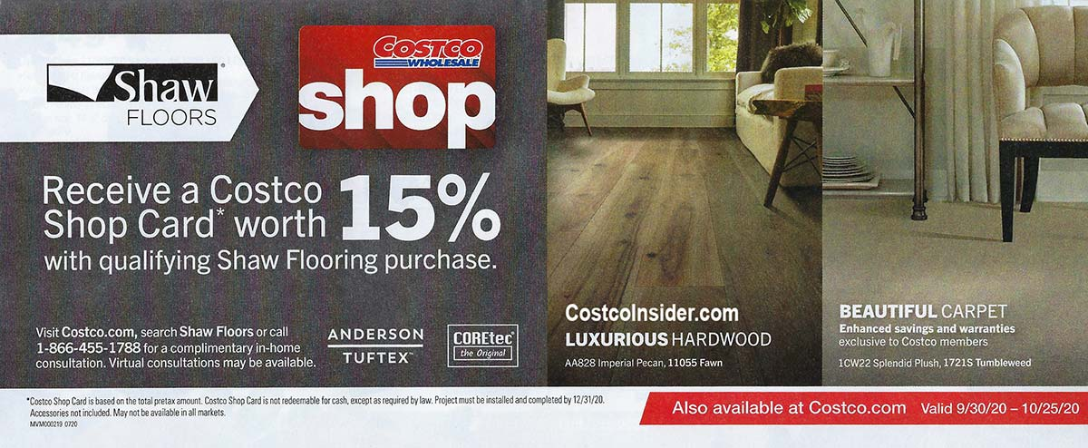 Costco October 2020 Coupon Book Page 7
