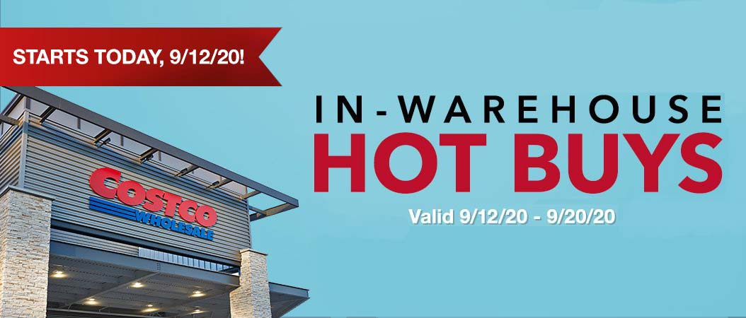 Costco September 2020 Hot Buys Coupons Cover