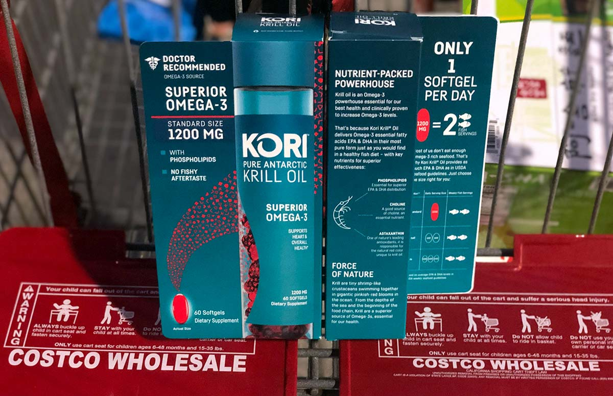 Kori Krill Oil in Cart