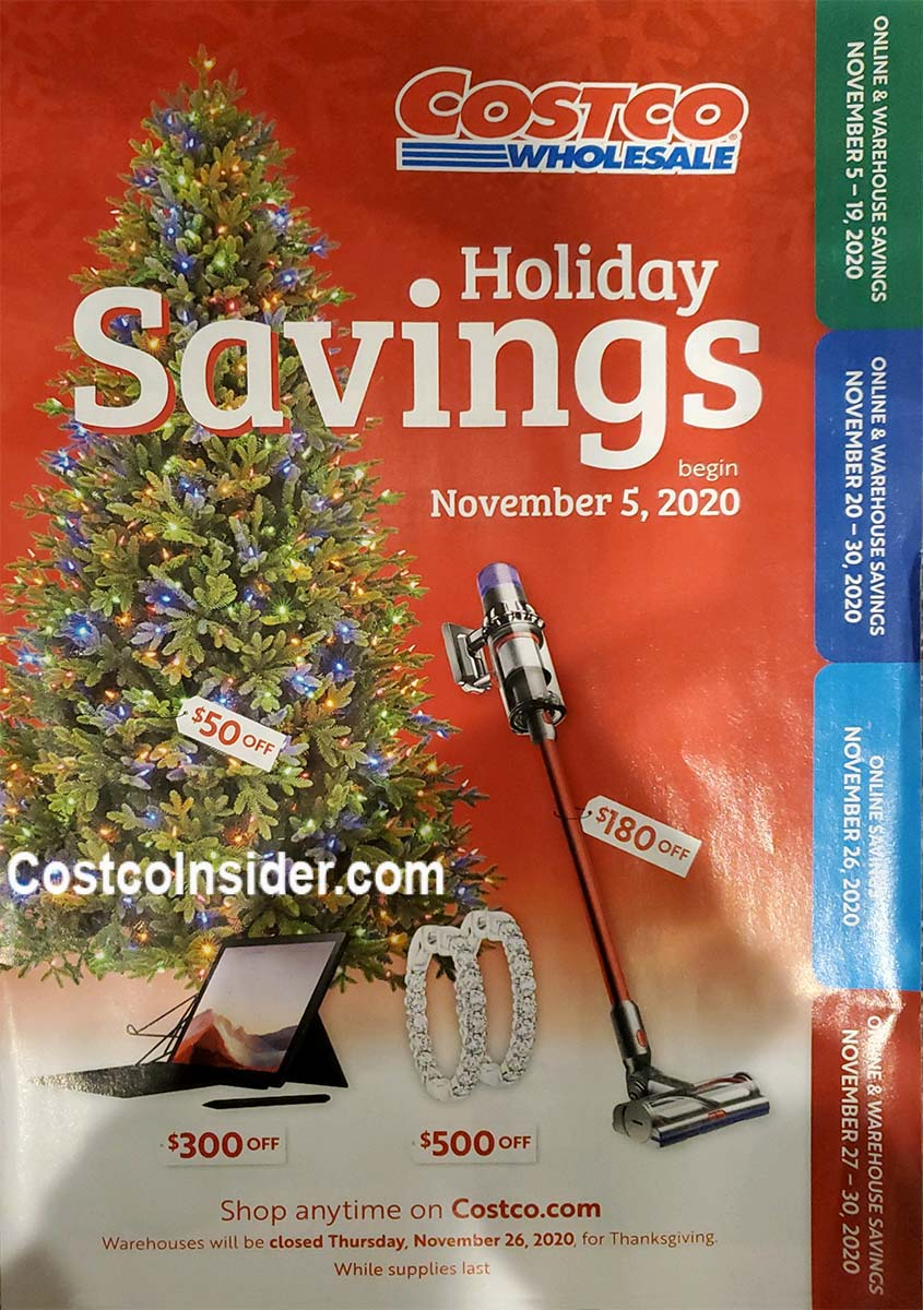 Costco Black Friday 2020 Ad Cover