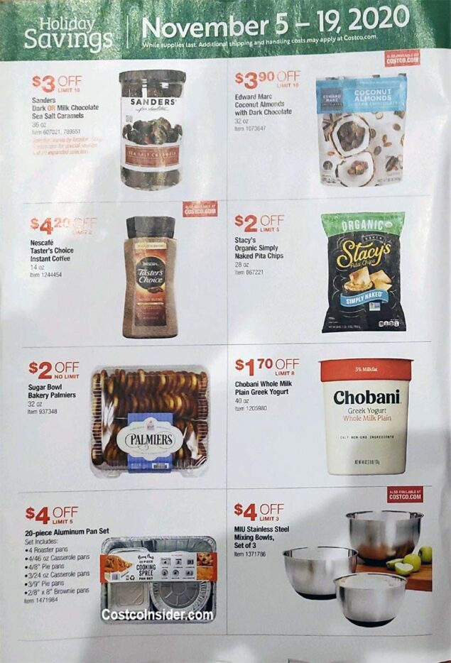 Costco Black Friday 2020 Ad Page 1
