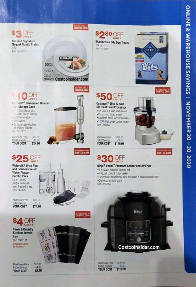 Costco Black Friday 2020 Ad Page 12