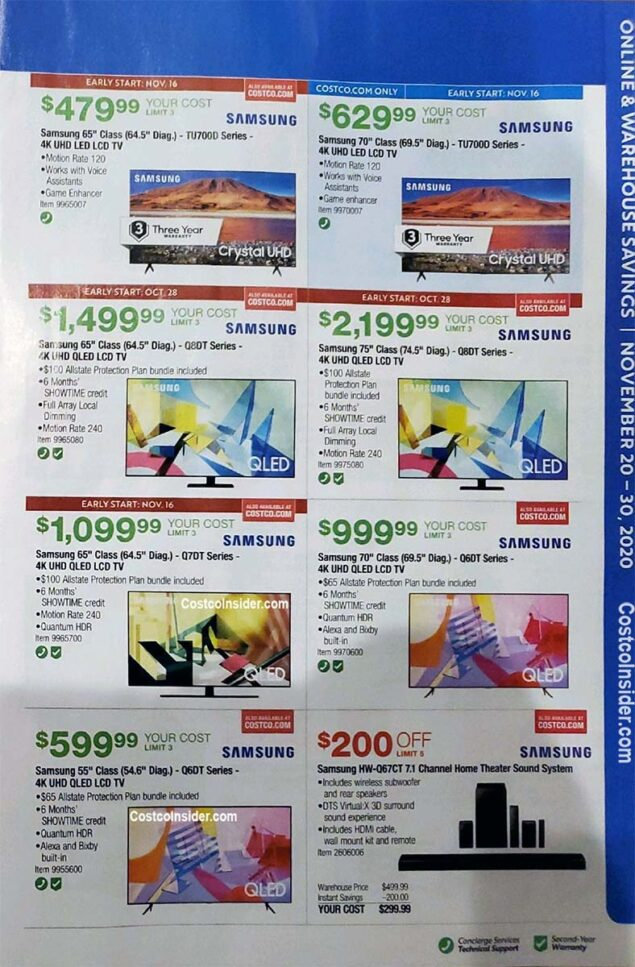 Costco Black Friday 2020 Ad Page 14