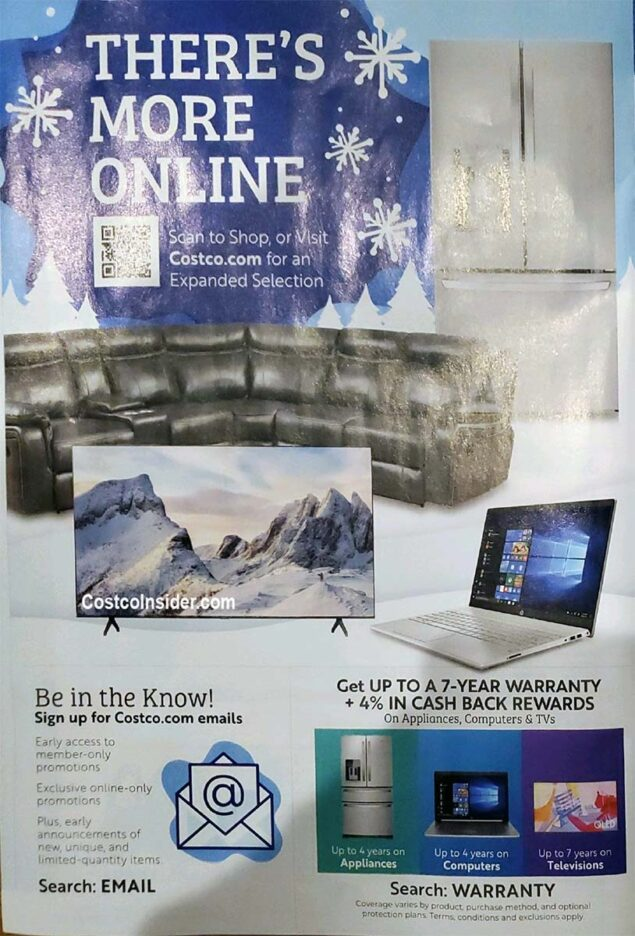 Costco Black Friday 2020 Ad Page 19
