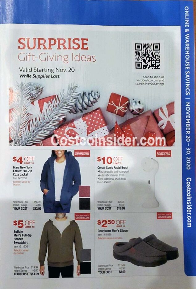 Costco Black Friday 2020 Ad Page 22