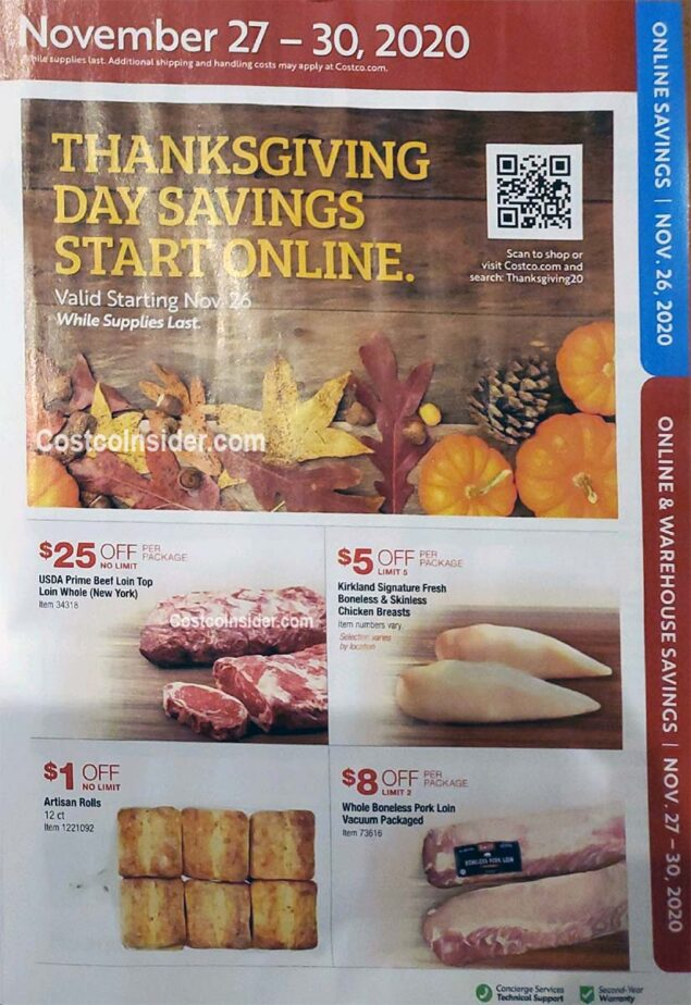 Costco Black Friday 2020 Ad Page 24