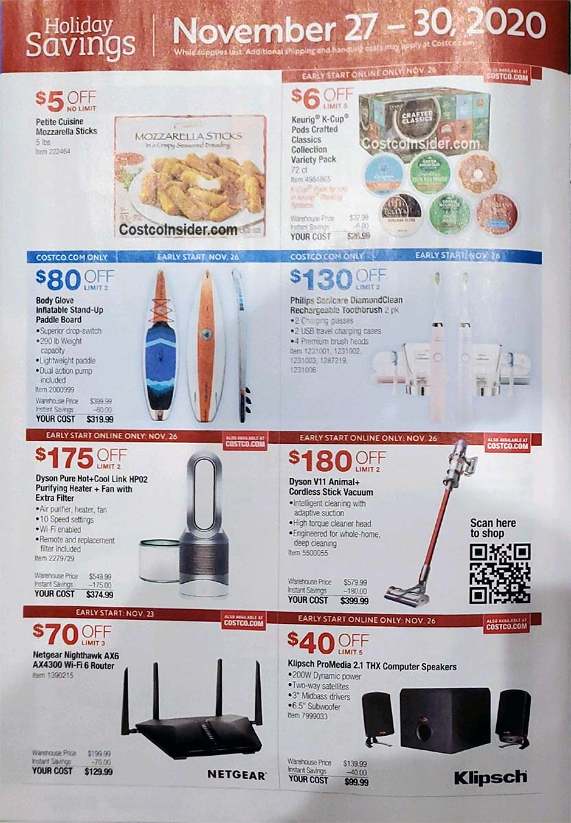 Costco Black Friday 2020 Ad Page 25