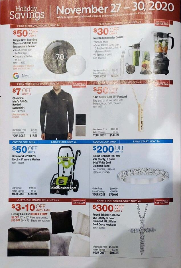 Costco Black Friday 2020 Ad Page 29