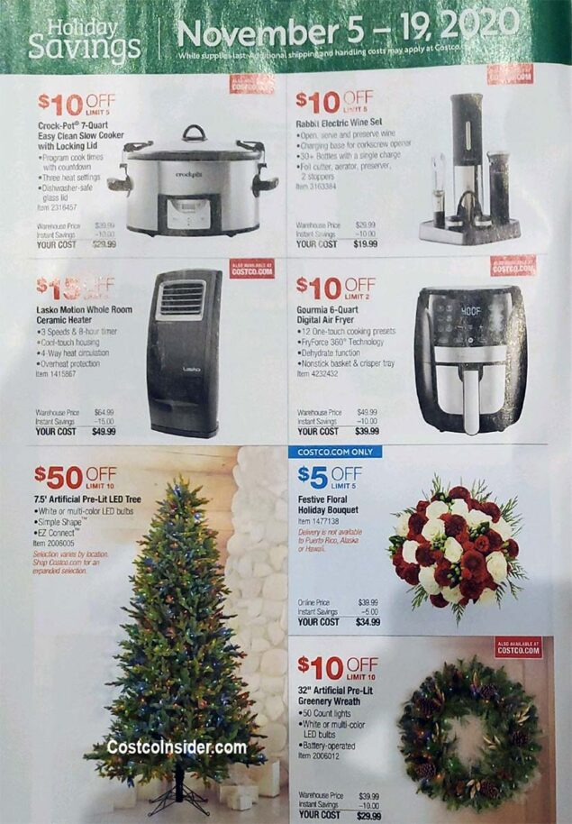 Costco Black Friday 2020 Ad Page 3