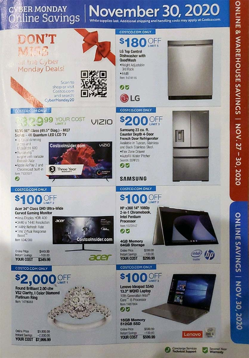 Costco Black Friday 2020 Ad Page 30