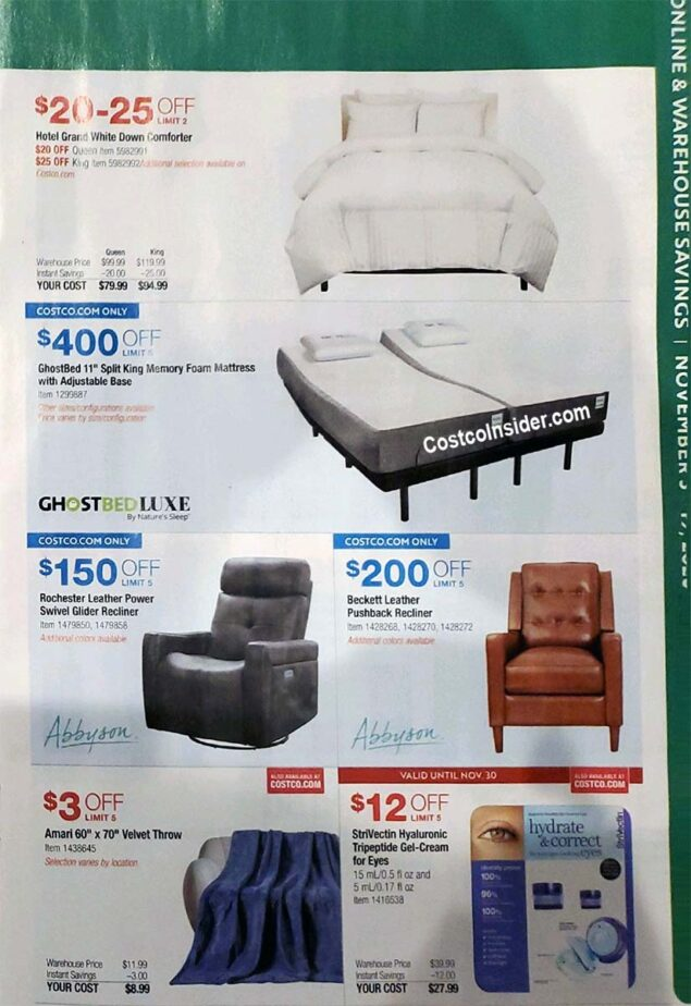 Costco Black Friday 2020 Ad Page 4