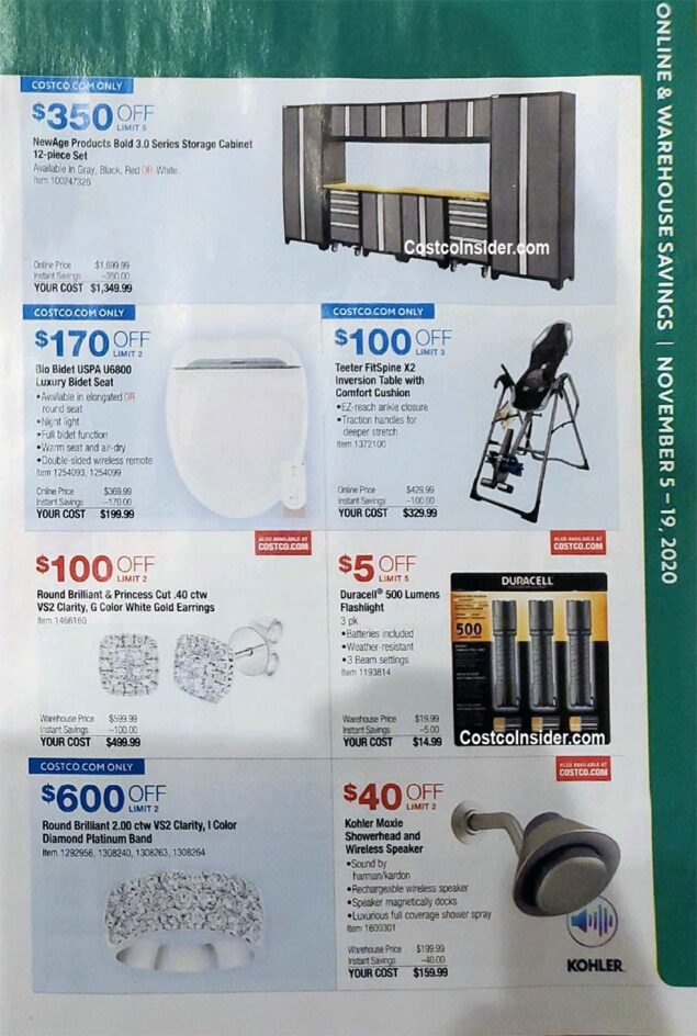 Costco Black Friday 2020 Ad Page 6